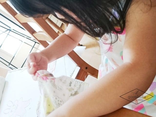 子供が初めての手芸。興味があるなら挑戦させて応援。