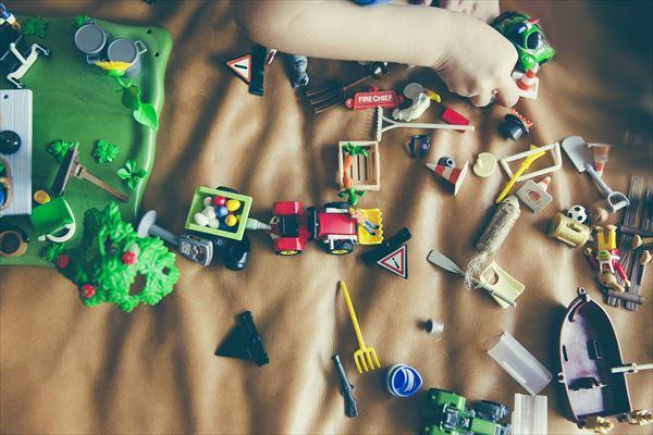 おもちゃ収納ボックス。その名は「グリッドコンテナー」