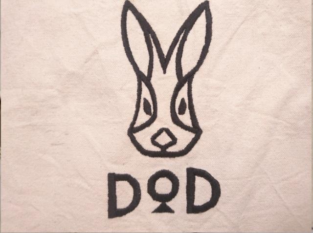 dodロゴ刺繍
