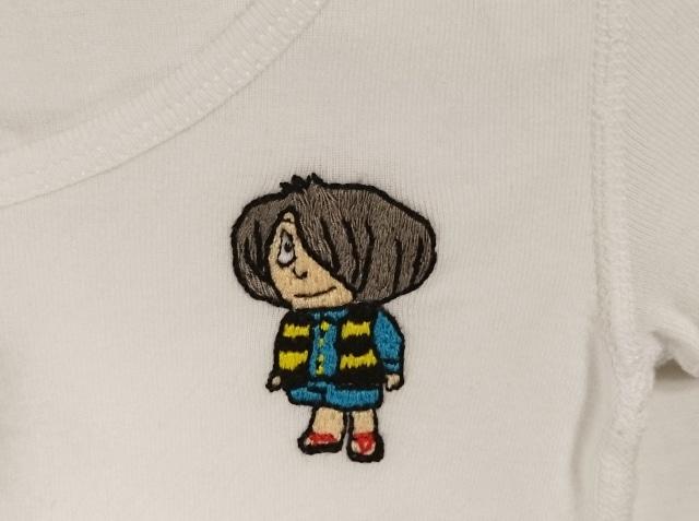 懐かしキャラの鬼太郎でオリジナルシャツ作り。